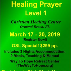 School of Healing Prayer